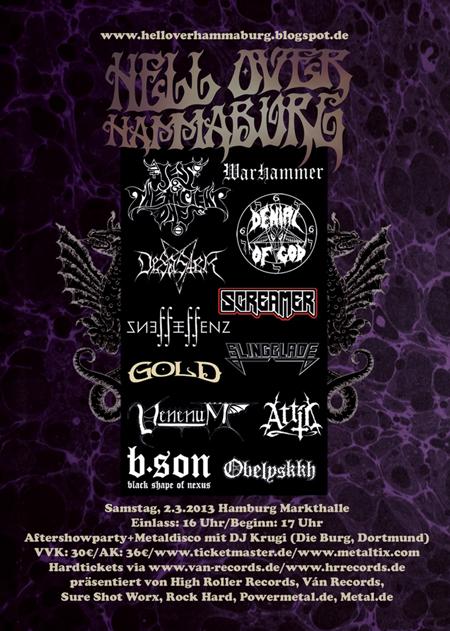SSW - Hell Over Hammaburg